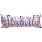 Princess & Diamond Print Body Pillow Case (Personalized)