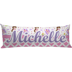 Princess & Diamond Print Body Pillow Case (Personalized)