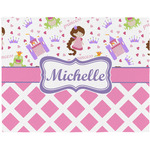 Princess & Diamond Print Placemat (Fabric) (Personalized)