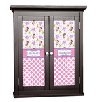 Princess & Diamond Print Cabinet Decal - Custom Size (Personalized)