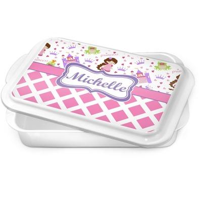 Princess & Diamond Print Cake Pan (Personalized)