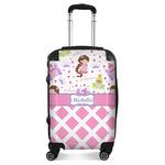 Princess & Diamond Print Suitcase (Personalized)
