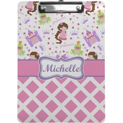 Princess & Diamond Print Clipboard (Personalized)