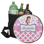 Princess & Diamond Print Collapsible Cooler & Seat (Personalized)