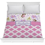 Princess & Diamond Print Comforter (Personalized)