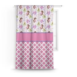 """Princess & Diamond Print Curtain - 50""""x84"""" Panel (Personalized)"""