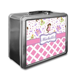 Princess & Diamond Print Lunch Box (Personalized)