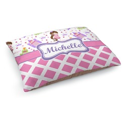 Princess & Diamond Print Dog Pillow Bed (Personalized)