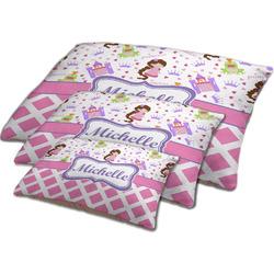 Princess & Diamond Print Dog Bed w/ Name or Text