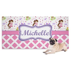 Princess & Diamond Print Pet Towel (Personalized)