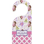 Princess & Diamond Print Door Hanger (Personalized)