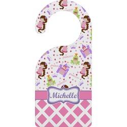 Princess & Diamond Print Door Hanger (Personalized)
