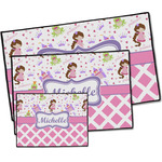 Princess & Diamond Print Door Mat (Personalized)