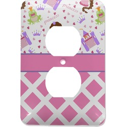 Princess & Diamond Print Electric Outlet Plate (Personalized)
