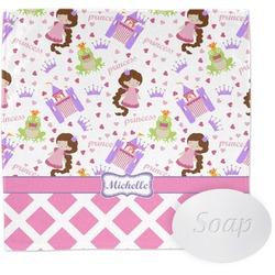 Princess & Diamond Print Wash Cloth (Personalized)