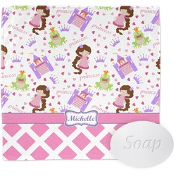 Princess & Diamond Print Wash Cloth (Personalized)