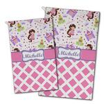 Princess & Diamond Print Golf Towel - Full Print w/ Name or Text