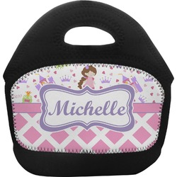 Princess & Diamond Print Toddler Lunch Tote (Personalized)