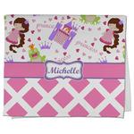 Princess & Diamond Print Kitchen Towel - Full Print (Personalized)