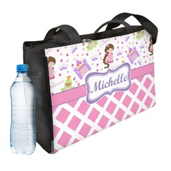 Princess & Diamond Print Ladies Workout Bag (Personalized)