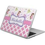 Princess & Diamond Print Laptop Skin - Custom Sized (Personalized)