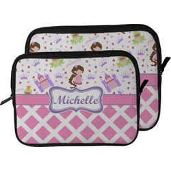 Princess & Diamond Print Laptop Sleeve / Case (Personalized)