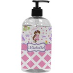 Princess & Diamond Print Plastic Soap / Lotion Dispenser (Personalized)