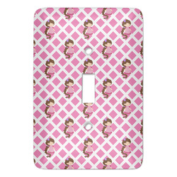 Princess & Diamond Print Light Switch Covers - Multiple Toggle Options Available (Personalized)