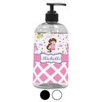 Princess & Diamond Print Plastic Soap / Lotion Dispenser (Personalized)