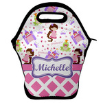 Princess & Diamond Print Lunch Bag (Personalized)
