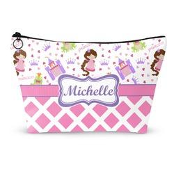 Princess & Diamond Print Makeup Bags (Personalized)