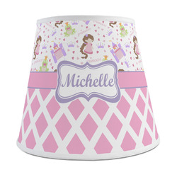 Princess & Diamond Print Empire Lamp Shade (Personalized)