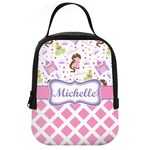 Princess & Diamond Print Neoprene Lunch Tote (Personalized)