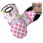 Princess & Diamond Print Neoprene Oven Mitt (Personalized)
