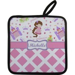 Princess & Diamond Print Pot Holder (Personalized)