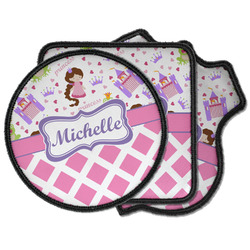 Princess & Diamond Print Iron on Patches (Personalized)