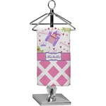Princess & Diamond Print Finger Tip Towel - Full Print (Personalized)