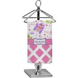 Princess & Diamond Print Finger Tip Towel - Full Print (Personalized)
