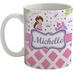 Princess & Diamond Print Coffee Mug (Personalized)