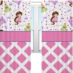 Princess & Diamond Print Curtains (2 Panels Per Set) (Personalized)