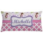 Princess & Diamond Print Pillow Case - Standard (Personalized)
