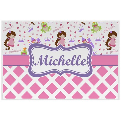 Princess & Diamond Print Placemat (Laminated) (Personalized)