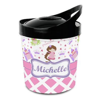Princess & Diamond Print Plastic Ice Bucket (Personalized)