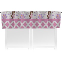 Princess & Diamond Print Valance (Personalized)