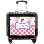 Princess & Diamond Print Pilot / Flight Suitcase (Personalized)