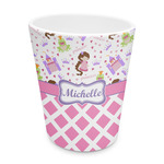 Princess & Diamond Print Plastic Tumbler 6oz (Personalized)