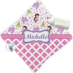 Princess & Diamond Print Security Blanket (Personalized)