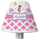 Princess & Diamond Print Shade Night Light (Personalized)