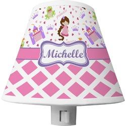 Princess & Diamond Print Shade Night Light (Personalized)