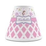Princess & Diamond Print Chandelier Lamp Shade (Personalized)